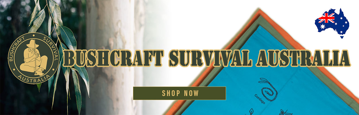 Bushcraft Survival Australia products available at PLATATAC