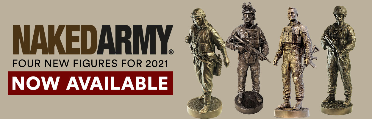 Naked Army. New for 2021. Now Available.